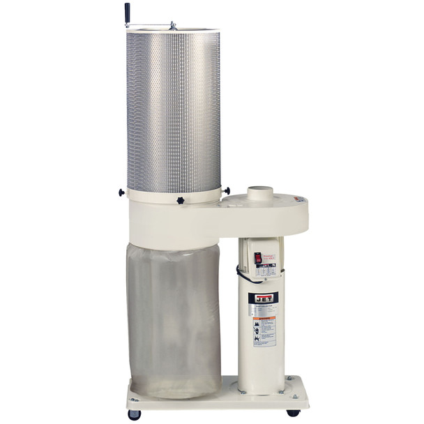 Jet DC-650 1HP 650CFM Dust Collector with 1 Micron Canister