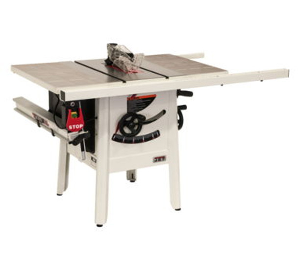 Jet Jps 10 1 75hp Proshop Tablesaw 30 Fence Steel Wings