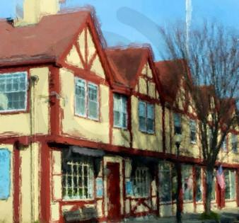 Main Street Falmouth, Cape Cod.