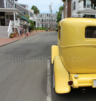 Car on Martha's Vineyard