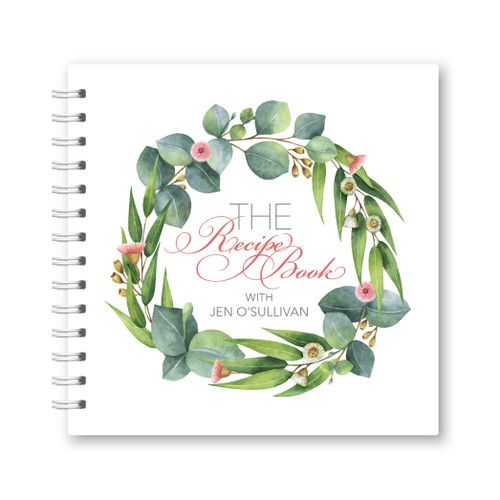 The Recipe Book Spiral Bound Front Cover