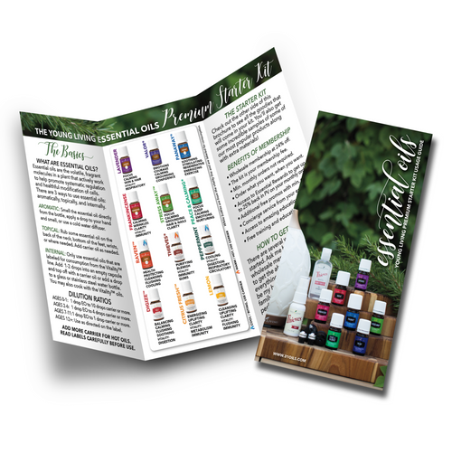 Young Living Essential Oils Premium Starter Kit Usage Guide Minis