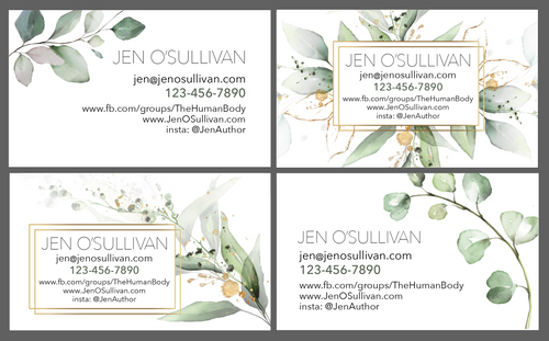 Sample cards