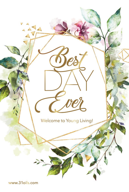 Best Day Ever 4x6 inch postcard