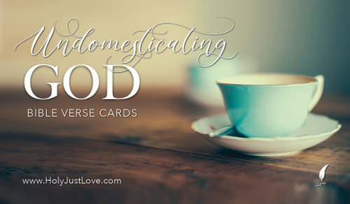 Free Download - Undomesticating God Memory Verse Cards