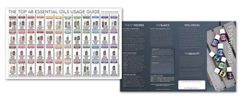 Essential Oils Usage Guide (20 pack)