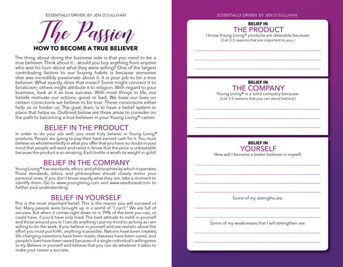 Free Download - Your Passion Worksheet