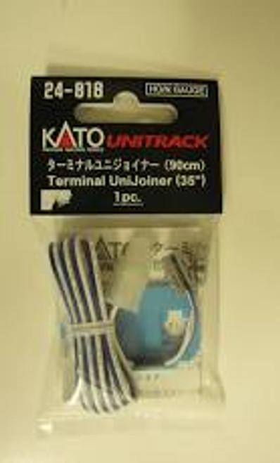 "Kato 24-818 N Terminal UniJoiner, 35"" Leads 1 pair"
