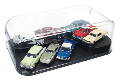 Auto World DC004 3 In 1 Display Case with Interchangeable Inserts
