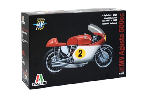 Italeri 4630 1/9 MV Agusta 500cc 4 cylinders 1964 Plastic Model Kit Box