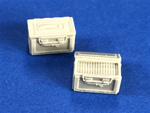 Squadron SQAA48001 1/48 US 50 Cal Ammo Cases WWII a