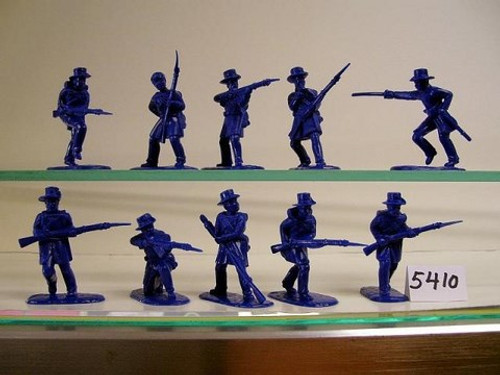 Armies In Plastic 5410 1/32 American Civil War Union Iron Brigade Toy Soldiers a