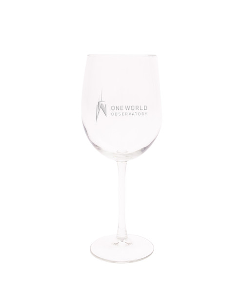 One World Observatory 19oz. Cachet wine glass