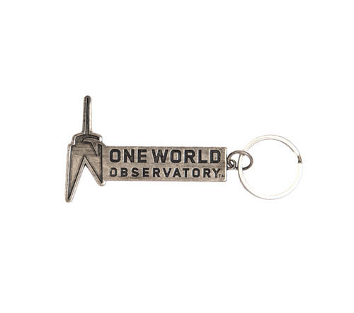 One World Observatory Logo Keychain