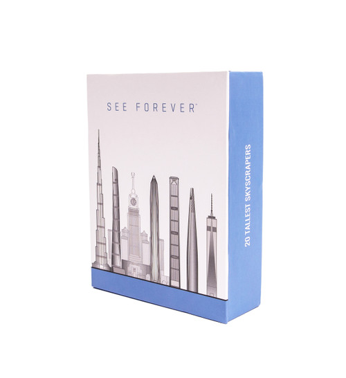 One World Observatory Judith Dupre 15 Notecard Set in box - 20 Tallest