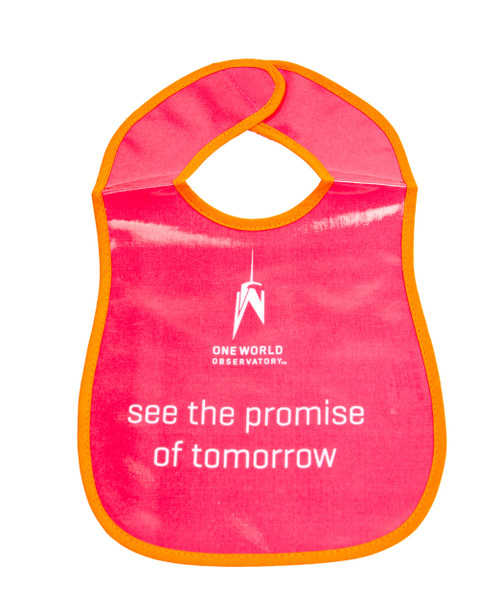 One World Observatory Bib Pink