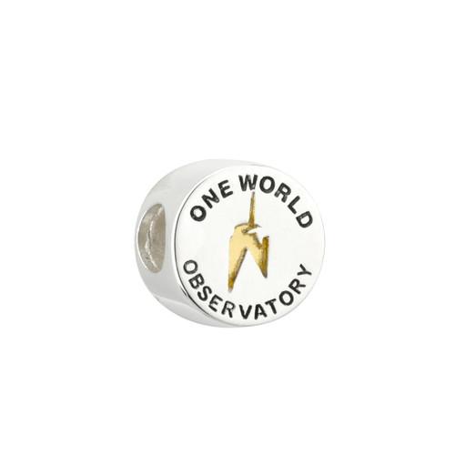 One World Observatory & GP NYC Round Bead