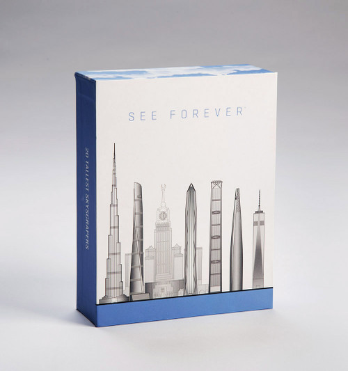 One World Observatory Tallest Skyscrapers Notecard Set