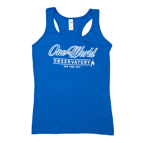 One World Observatory Women's Racerback Tank