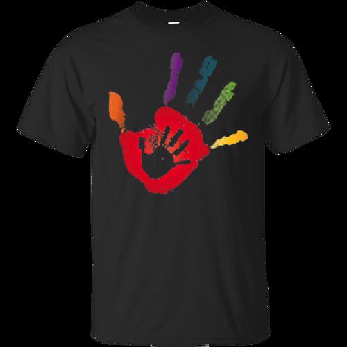 Trending tees Autism Handprint T-Shirt