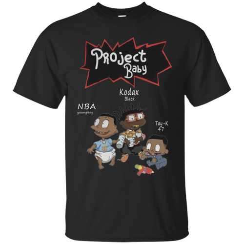 Limited Nba Young Boy Kodak Black and Tay K Project baby T-Shirt