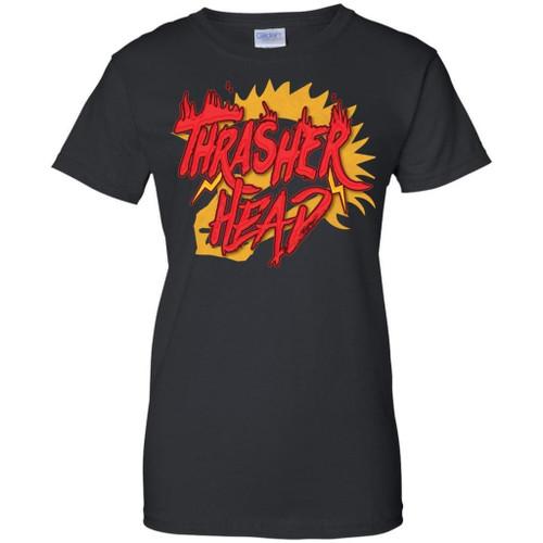 Stupendous Thrasher Head T Shirt