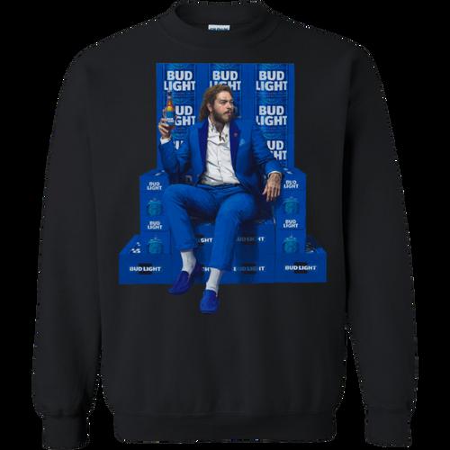 Post Malone Bud Light t shirt Sweatshirt