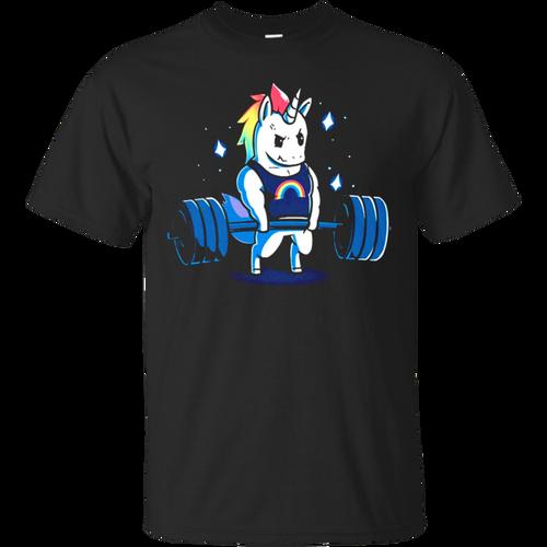 Fantastic Gym Unicorn T shirt hoodie sweater