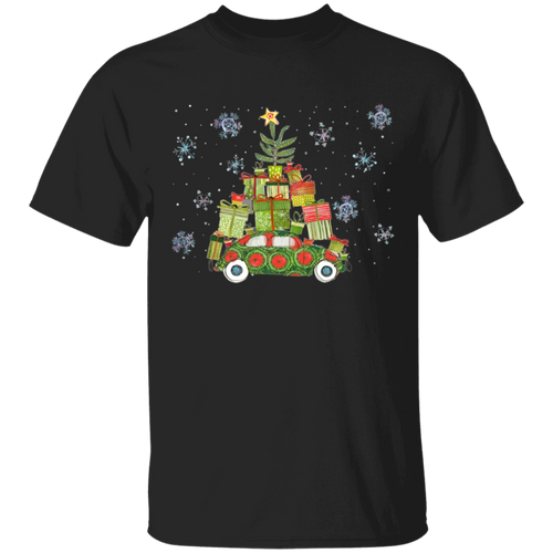 Beetle Xmas Tree-Volkswagen Beetle T-shirt