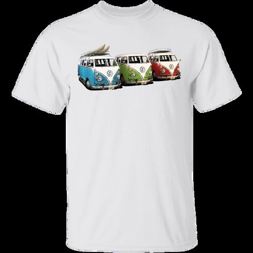 3 Bus - Volkswagen Beetle Bus T-shirt