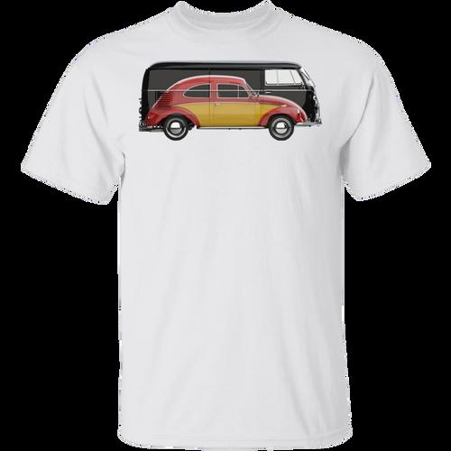 Volkswagen Beetle And Bus T-shirt