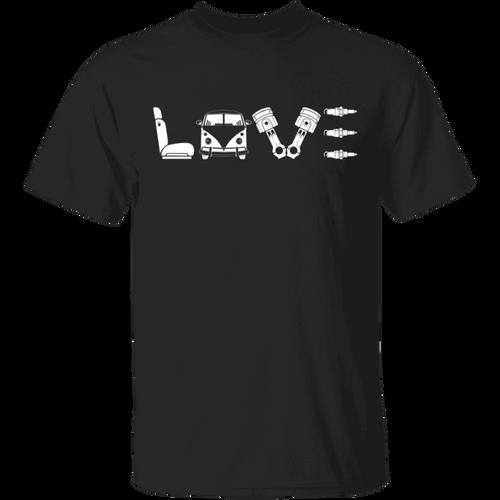 Love Beetle-Volkswagen Beetle Bus T-shirt