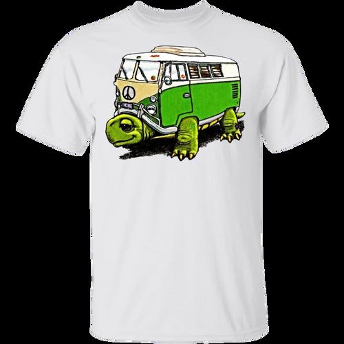 Turtle Bus-Volkswagen Beetle Bus T-shirt