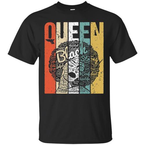 Black Queen T-shirts for Melanin Popping Girls