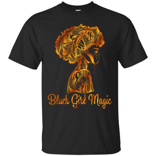 Black Girl Magic Beautiful T-shirts for Queens