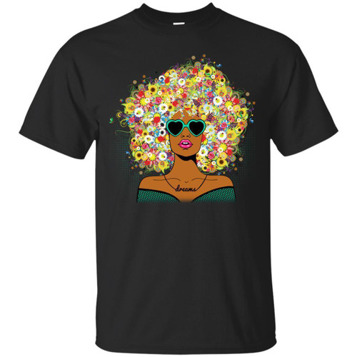 Beautiful T-shirt For Black Queens Melanin Popping