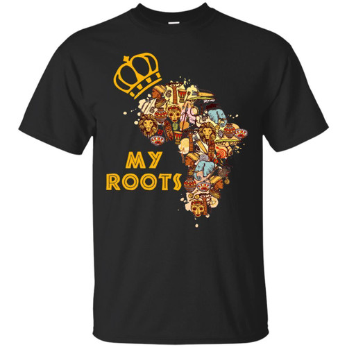 My Roots funny T-shirt for Black Grils