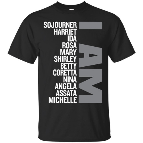 Funny T-shirts for Black Queens