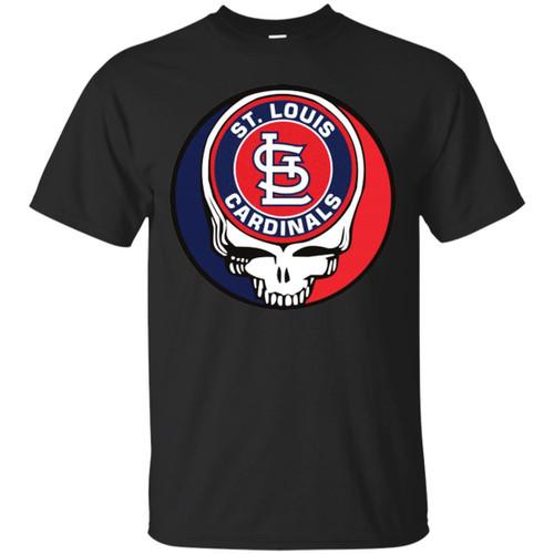Mlb - St.louis Cardinals Grateful Dead Steal Your Face Baseball Mlb Shirts
