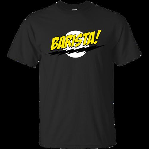 Big Bang Theory - Barista T Shirt & Hoodie