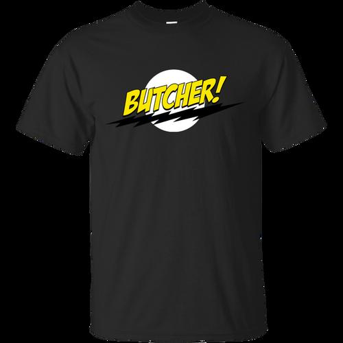 Big Bang Theory - Butcher T Shirt & Hoodie
