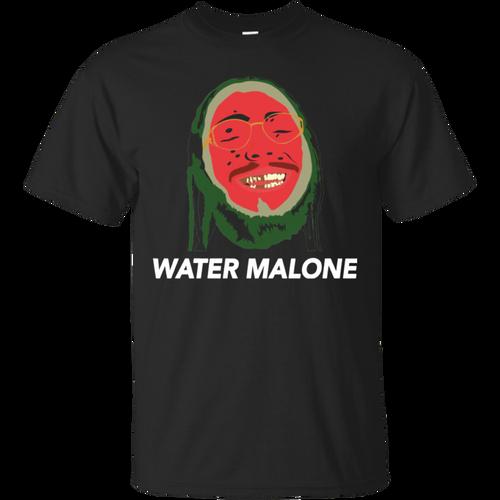 Post Malone � Water Malone funny shirt Cotton t shirt