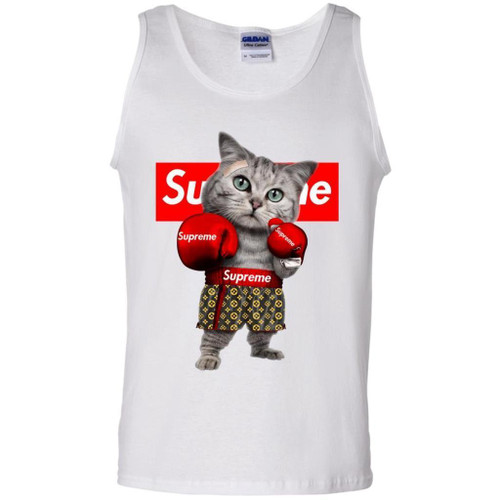 Blithesome Supreme Boxing Cat Funny T-shirt