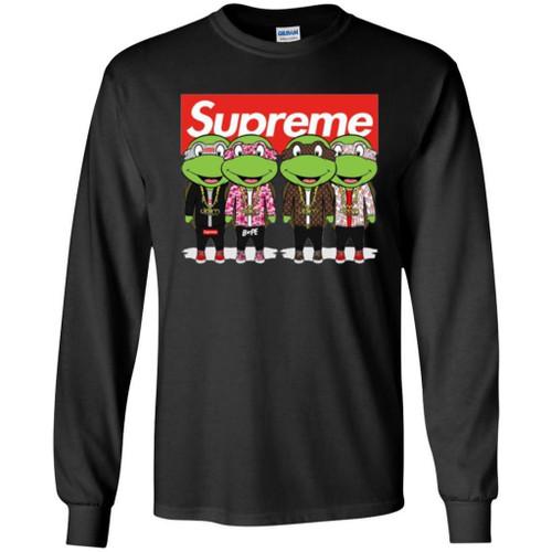 Trending Funny Supreme Kid Turtle T-shirt