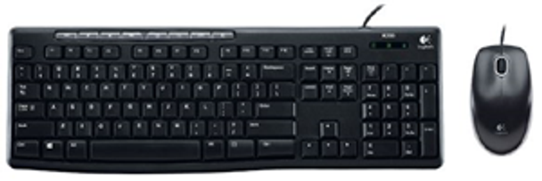 Logitech MK200 Wired USB Keyboard and Mouse