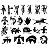 Table of Ironcraft Petroglyph Designs
