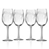 Dragonfly White Wine Glasses, Set of 4