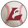 """27"""" University of Wisconsin-La Crosse Baseball Style Round Mat"""