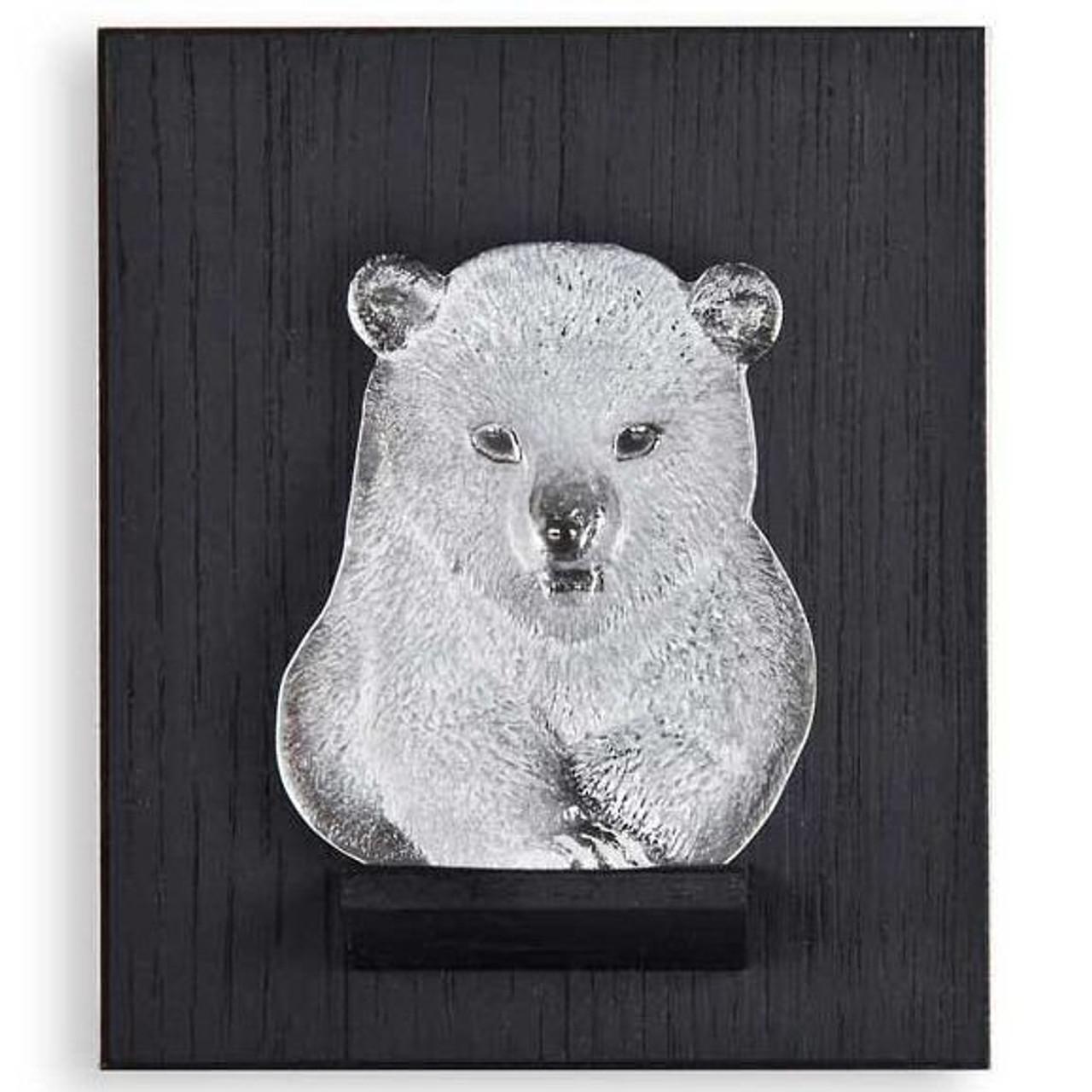 Mats Jonasson Crystal Wall Sculptures