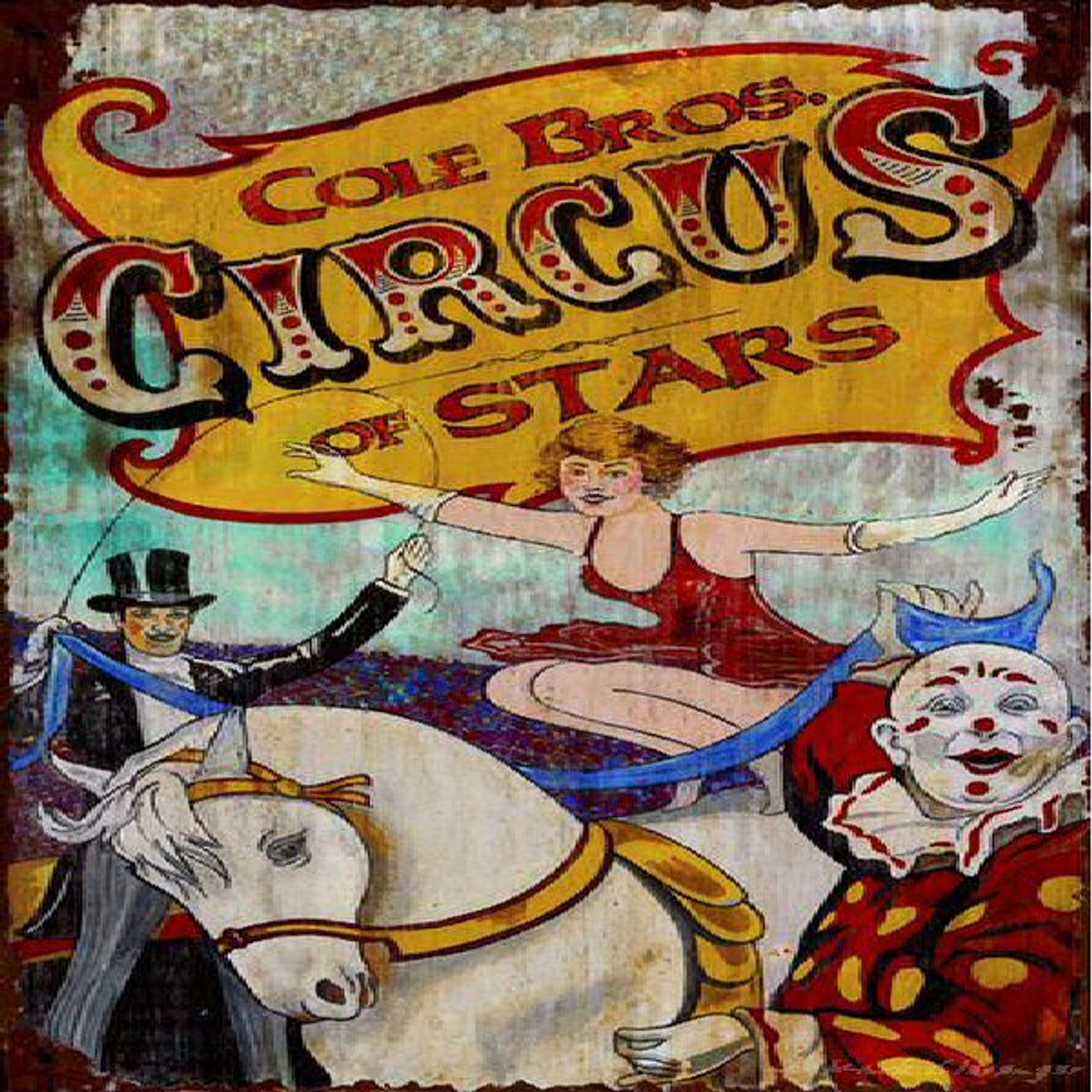 Circus Metal Signs